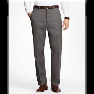 Brooks Brothers Hudson Advantage Grey Chino
